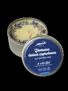 Domowa świeca zapachowa 4 olejki eteryczne łagodzące bóle menstruacyjne