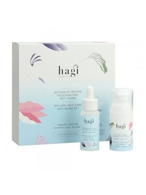 Hagi Cosmetics NATURALNY ZESTAW PIELĘGNACYJNY ANTI-AGING, 30ml+30ml