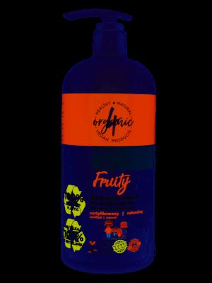 4organic Żel do mycia i kąpieli dla dzieci i rodziny Fruity 1l