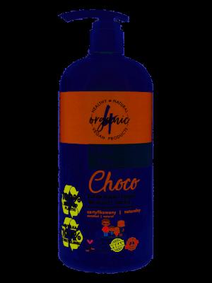4organic Żel do mycia i kąpieli dla dzieci i rodziny Choco 1l