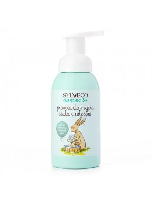 SYLVECO dla dzieci Pianka do mycia ciała i włosów, 290ml