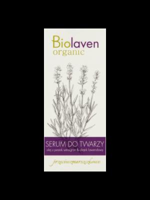 Biolaven Organic Serum do twarzy przeciwzmarszczkowe 30 ml
