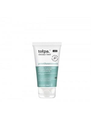 tołpa dermo hair przetłuszczanie głęboko oczyszczający szampon przeciw przetłuszczaniu, 50ml