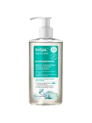tołpa dermo hair przetłuszczanie głęboko oczyszczający szampon przeciw przetłuszczaniu, 250ml