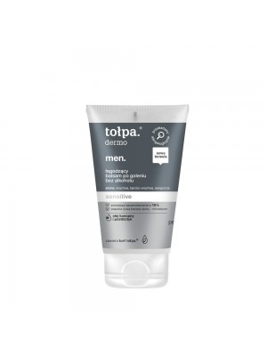 tołpa dermo men sensitive łagodzący balsam po goleniu bez alkoholu, 100 ml