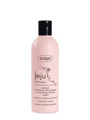 ziaja jeju szampon do włosów i skóry głowy, 300ml