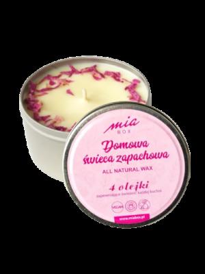 Domowa świeca zapachowa 4 olejki eteryczne zapewniające świeżość każdej kuchni