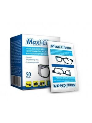 Chusteczki nawilżane do czyszczenia okularów, smartfonów, LCD, sprzętów elektronicznych Maxi Clean