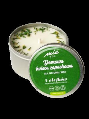 Domowa świeca zapachowa 5 olejków eterycznych łagodzących objawy migreny