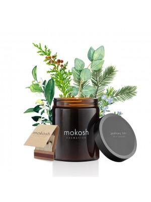 mokosh roślinna świeca sojowa Jodłowy bór, 140g