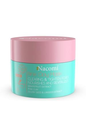 Nacomi maska różowa oczyszczająco-ściągająca 50 ml