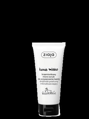 ziaja kozie mleko krzemionkowy micro-scrub do oczyszczania twarzy