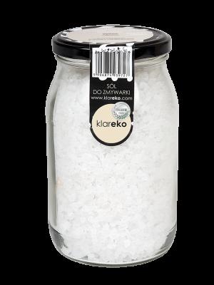 klareko Sól Do zmywarki - Słój 1kg