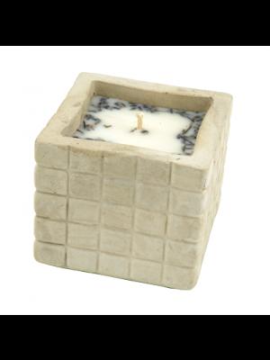 Świeca sojowa antykomarowa– forma betonowa ANNA