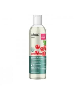 tołpa green ochrona koloru szampon do włosów farbowanych i rozjaśnianych, 300 ml