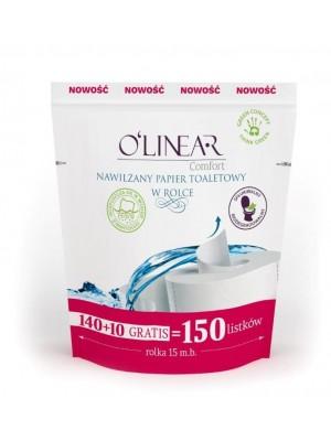 Nawilżany papier toaletowy w rolce - zapas O'Linear