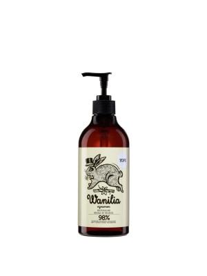 YOPE Wanilia i cynamon Naturalne mydło w płynie do rąk