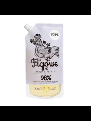 YOPE Figa Naturalne mydło w płynie do rąk - refill