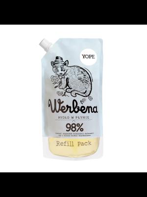 YOPE Werbena Naturalne mydło w płynie do rąk - refill