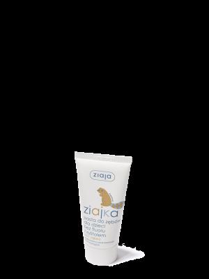 ziaja ziajka pasta do zębów dla dzieci bez fluoru z xylitolem, 50ml